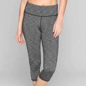 Lululemon Charcoal Grey Capri Leggings XS Pants